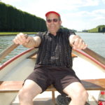It was fun to get a bit of rest from walking and rent a boat. A much different persepective.
