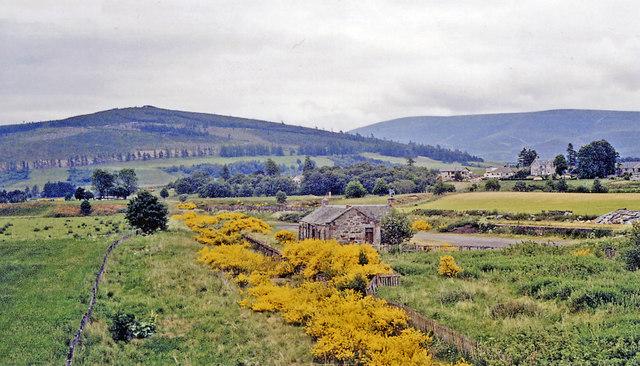 Landscape of Speyside Scotland