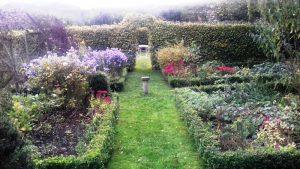 Hebron garden Knighton Wales