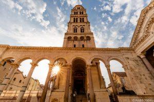 Diocletians Palace in Split Croatia