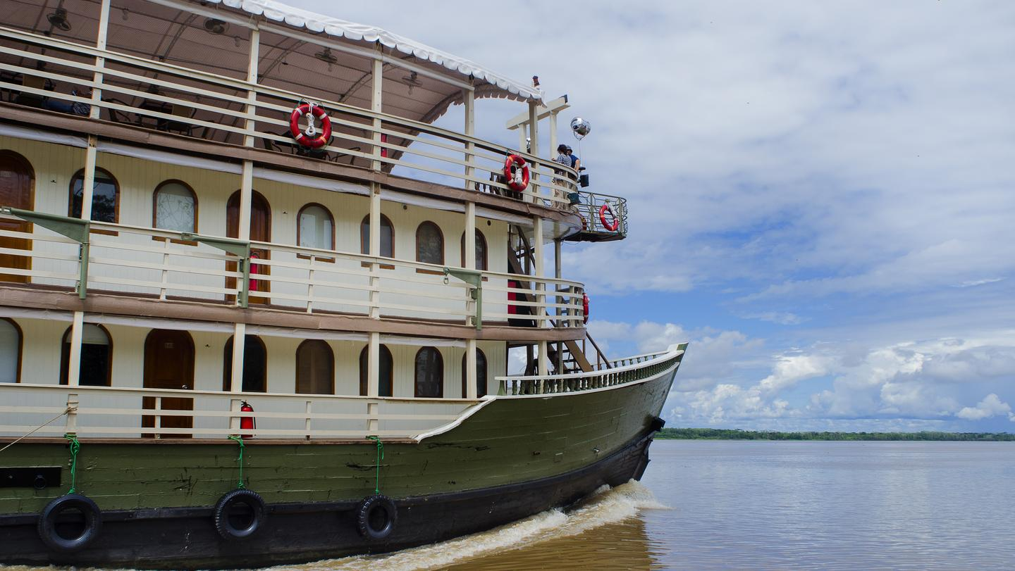 Amatista riverboat on the amazon