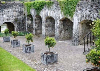 Aberglasney gardens Wales