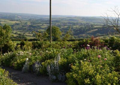 Pentresite gardens Wales