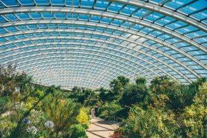 Worlds largest glass house wales botanical gardens