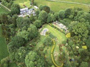 llwyngarreg garden Wales