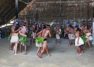 Indigenous dance amazon