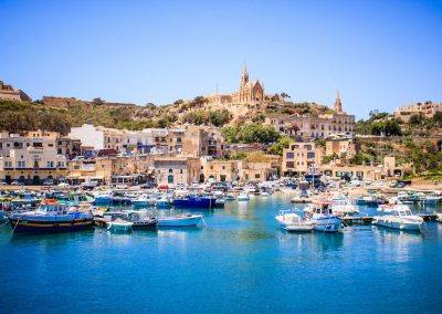 Gozo Malta harbor